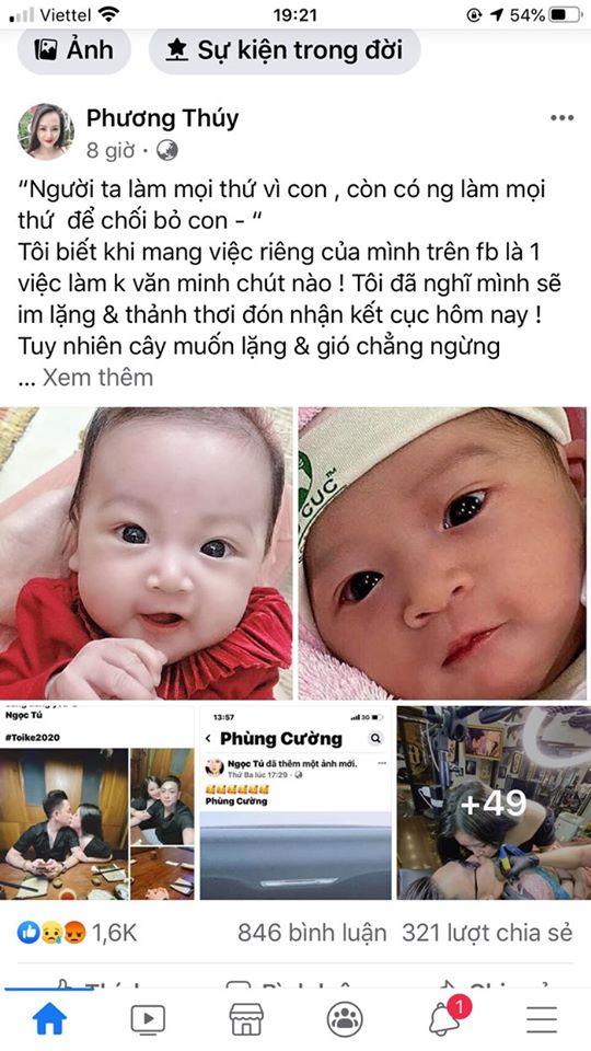 Diễn viên Phùng Cường công khai ngoại tình khi vợ mới sinh bị CĐM phẫn nộ