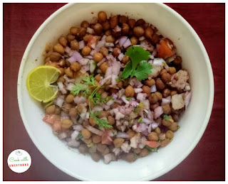 Black Chana Chaat