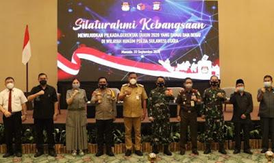 Gubernur Dukung Penuh Pilkada Damai