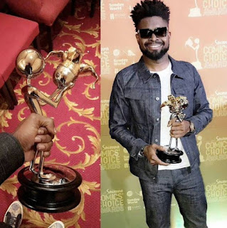 Pan African Comic of the year award goes to Basketmouth