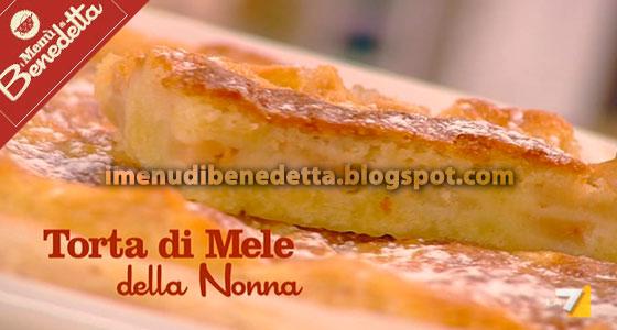 Torta Di Mele Di Nonna Carla La Ricetta Di Benedetta Parodi