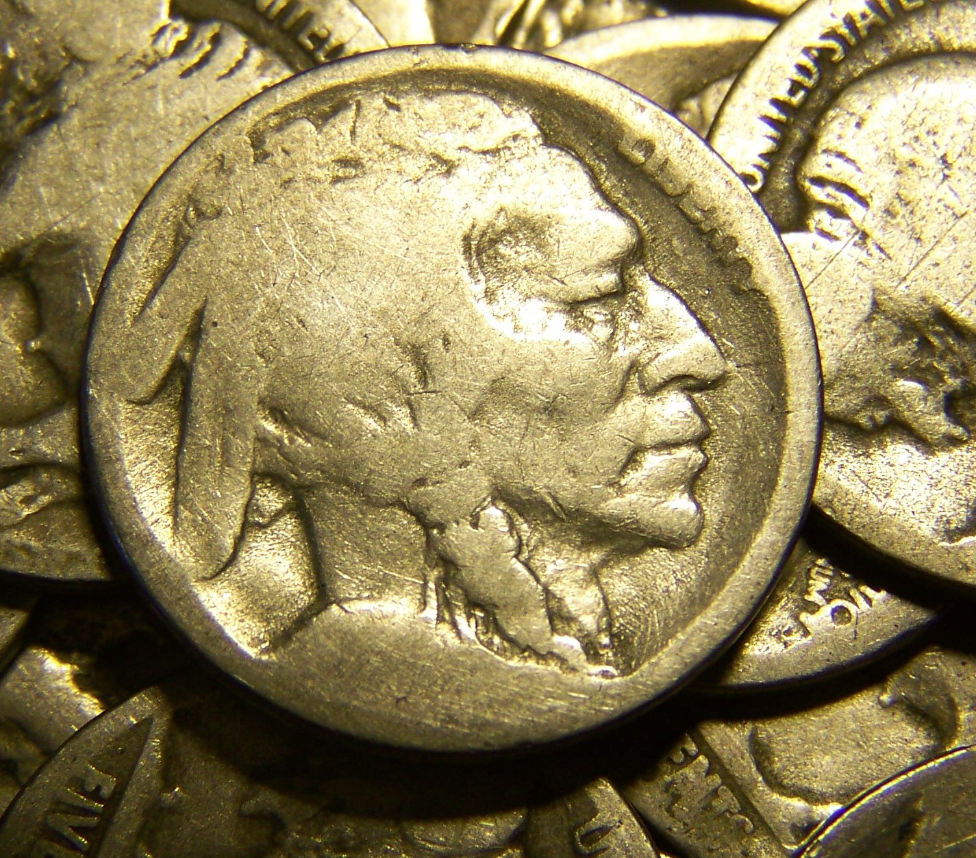 My Coin Pictures Worn No Date Buffalo Nickels