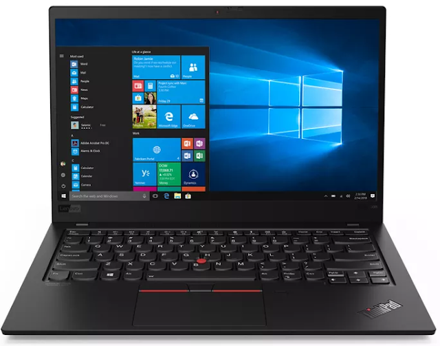 Lenovo's ThinkPad X1 Carbon with 10th generation Intel CPU