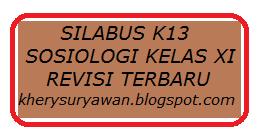 File Pendidikan Silabus k13 Sosiologi Kelas XI Revisi Terbaru