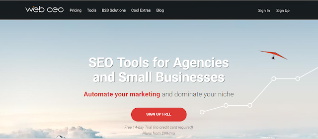 WebCEO SEO Software