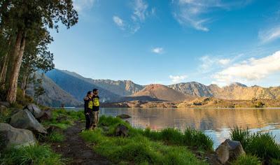 Lake Segara Anak 2000 meters Mt Rinjani