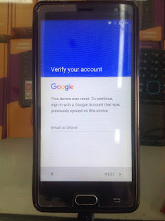 Cherry Mobile FLARE S5 FRP Bypass (Verify your Account)
