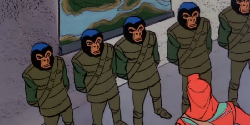 RETURN TO THE PLANET OF THE APES review