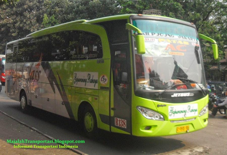 Harga Tiket Bus Gapuraning Rahayu