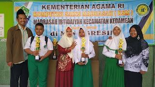 juara kompetisi sains madrasah tahun 2019