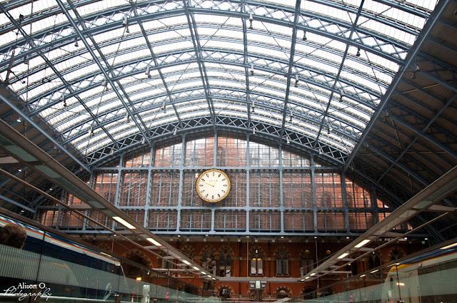 citytrip Londres London st Pancras