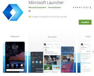 Download Microsoft Launcher