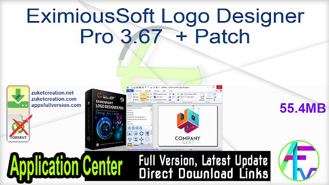 EximiousSoft Logo Designer Pro 3.69 + Patch