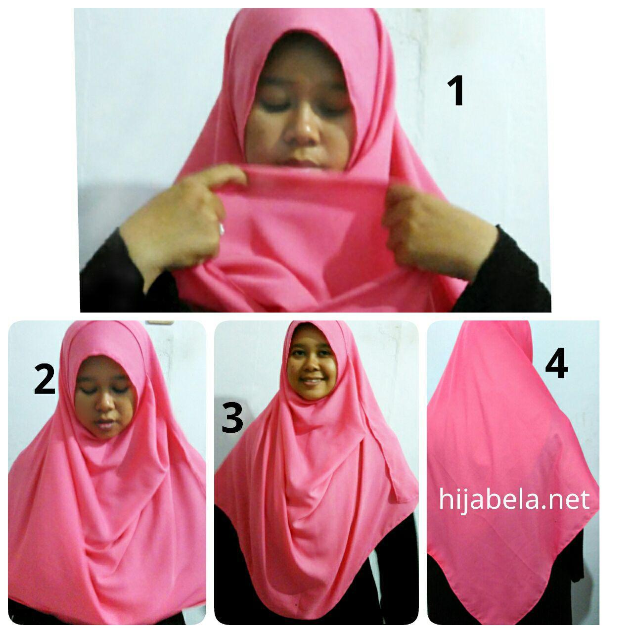 Tutorial Hijab Pashmina Rawis Syar39i