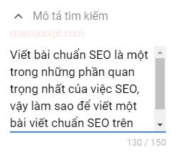 Cách viết bài chuẩn SEO trên blogspot