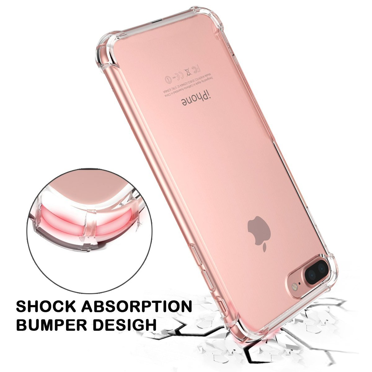 apple iphone 8 plus case light up