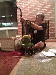 Putting together the tiller