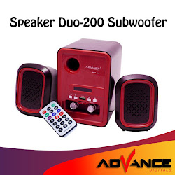 Advance Speaker DUO 200 Speaker Subwoofer USB <p>Rp137.900</p> <code>WS-013</code>