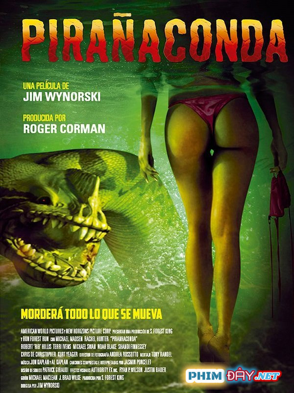 Rắn Hổ Ăn Thịt Người - Piranhaconda (2012)
