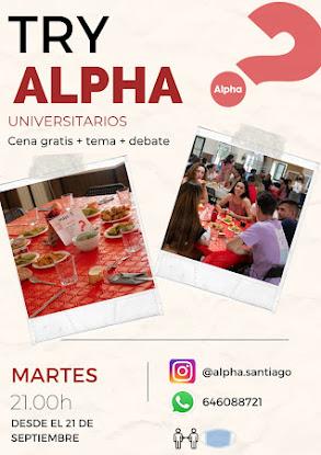 Vuelve Alpha universitarios