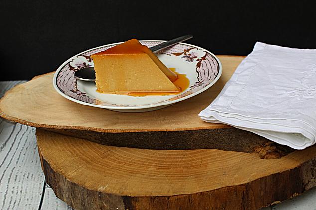 pudim caseiro de queijo sem cozedura