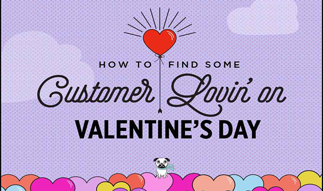 How to Find Some Customer Lovin' on Valentine's Day #infographic
