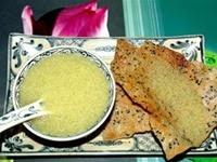 Thơm mát bánh đa kê Hà Nội