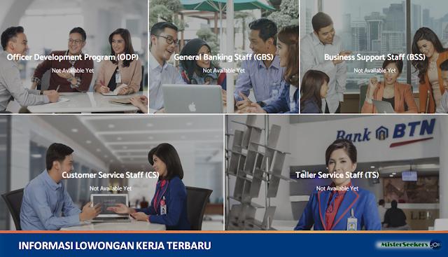 Lowongan Kerja PT. Bank Tabungan Negara Tbk (Karir Bank BTN)