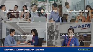 Lowongan Kerja Terbaru PT. Bank Tabungan Negara Tbk (Bank BTN)