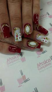 Imagens de unhas decoradas lindas