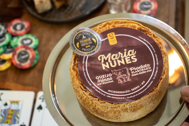 Queijo medalha de prato do Mondial du Fromage 2019
