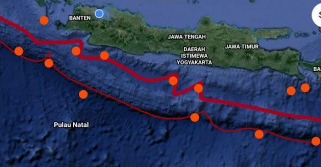 Waspada Pulau Jawa Sedang Menggeliat, Dalam 3 Pekan Ada 9 Rentetan Gempa