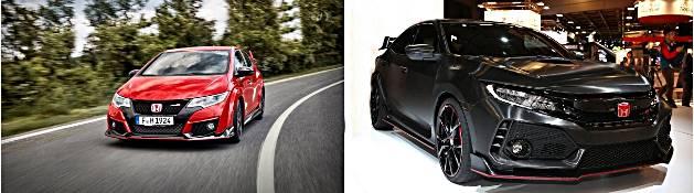 2017 Honda Civic Type R Concept Revealed at Paris Motor Show