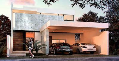 privada modelo residencial Arborettos Modelo Olmo