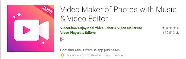 افضل برامج تصميم فيديو من الصور للاندرويد مجاناً