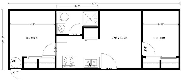 Simple Tiny Trailer House Plans | Tiny House Lifestyle - Small Space ...
