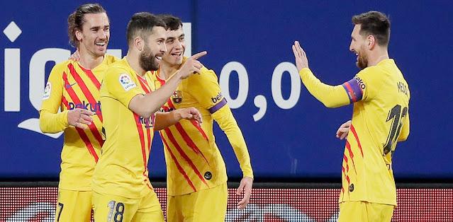 Osasuna vs Barcelona Highlights
