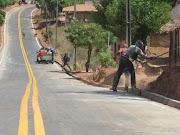 Igarapé Grande: Obras de asfaltamento da estrada do povoado São Raimundo entram em fase final