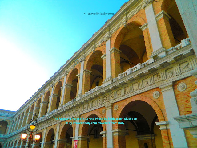 Palazzo Apostolico Apostolic Palace Loreto Photo by Baldassarri Giuseppe © By itravelinitaly.com travelers from Italy