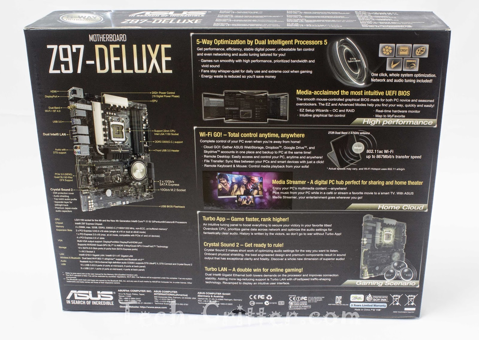 Unboxing & Review - ASUS Z97-Deluxe 157