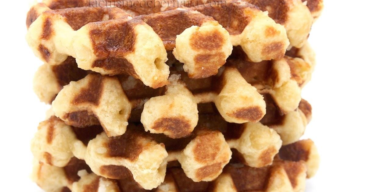 La Cuisine de Bernard : Gaufres Liégeoises