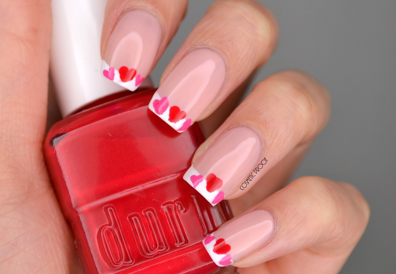 NAILS | Valentine\'s Day Botched Heart French Manicure | Cosmetic ...