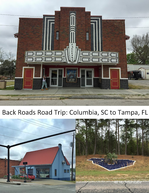 back roads road trip: Columbia, South Carolina to Tampa, Florida