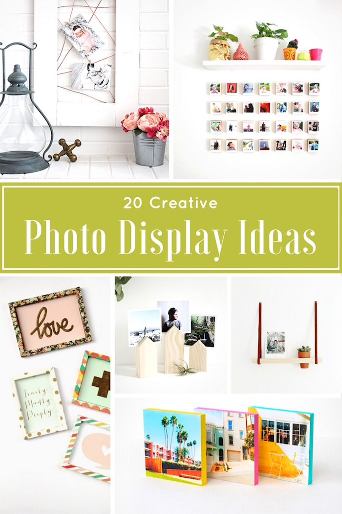 creative photo display ideas diy with 20 top bloggers
