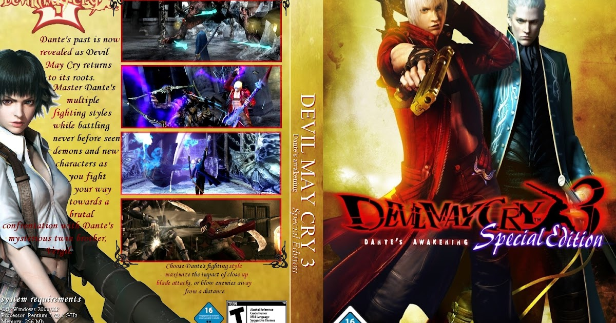 Download - Devil May Cry 3 - PC [Torrent] | GamesDonwload