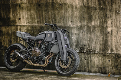 "Yamaha MT-07 ""Street Fighter"" by Rough Crafts"