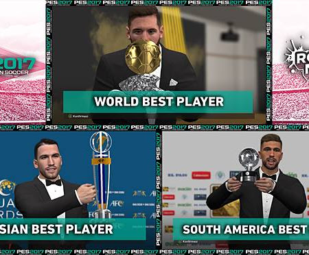 PES 2017 Trophy Ballon D'or & MVP Boards V2