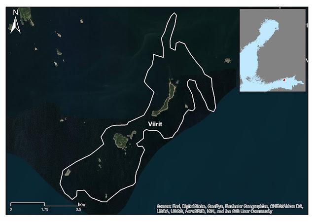karttakuva: Viirien EMMA-alue
