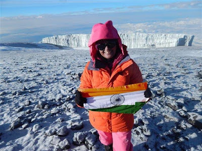 Aparna Kumar becomes first IPS Officer to conquer the 'Seven Summits' challenge