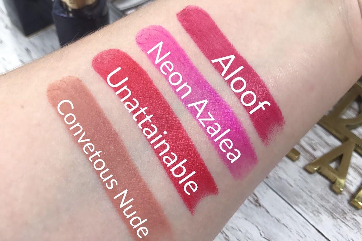 Unattainable, Neon Azalea, Aloof, Convetous Nude